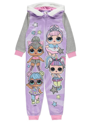 LOL Surprise! Girls FLEECE HOODED Lilac  3 to 10 Years BNWT
