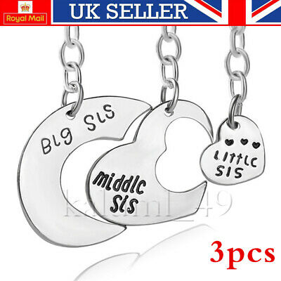 XMAS GIFT keyring for big middle little sister Friend sisters Christmas Gifts