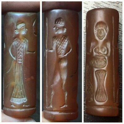 Stunningly Old Central Asia cylinder seal