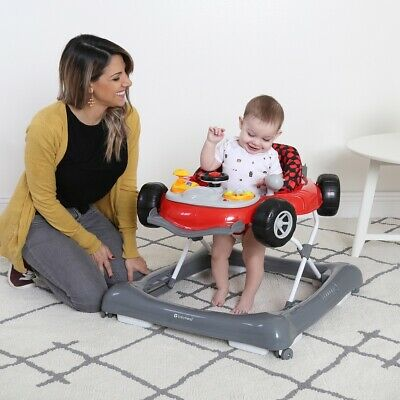 Baby Activity Walker Car with Wheels Boys Girls Walk Learning Assistant