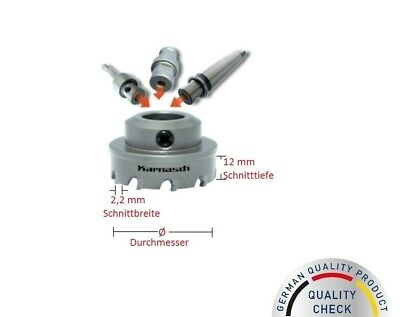 Karnasch 201130 Hm Hole Saw Circle Cutter for Steel//Stainless Steel 14-49 mm