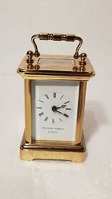 Miniature Matthew Norman Carriage Clock