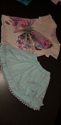 Girls Next Summer Skirt And Top Set. Age 10