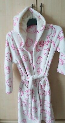Girls dressing gown age 11-12, Hooded, Hello Kitty from Marks and Spencer