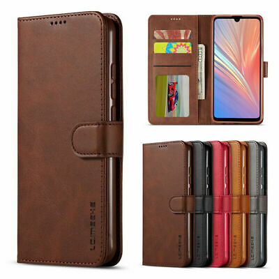 Magnetic Flip Leather Card Wallet Case Cover For Xiaomi Redmi Note 7 8 Pro Mi 9T