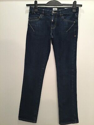Armani Junior Designer Boys Smart Blue Denim Jeans Age 12