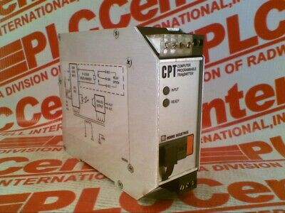 Moore Industries Cpt/Tprg/4-20Ma/117Ac / Cpttprg420Ma117Ac (Used)