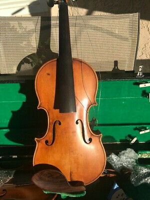 Old, antique vintage full size violin - German Stradivarius