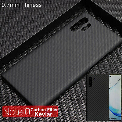 Real Carbon Fiber Ultrathin Protective Cover Case for Samsung Galaxy Note 10 10+