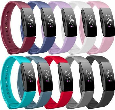 For Fitbit Inspire / HR Silicone Fitness Replacement Wrist Sports Strap Band