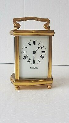 Antique Ormolu Carriage Clock Weir & Son Dublin & Belfast D Barrois France