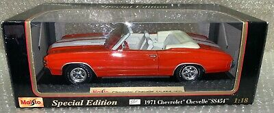 Maisto 1971 Chevrolet Chevelle SS454 Special Edition 1:18 Scale Die-Cast Model