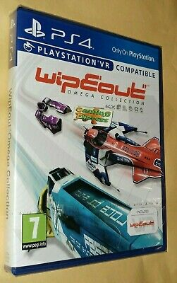 WipEout Omega Collection Playstation 4 PS4 PSVR NEW SEALED VR Compatible SONY
