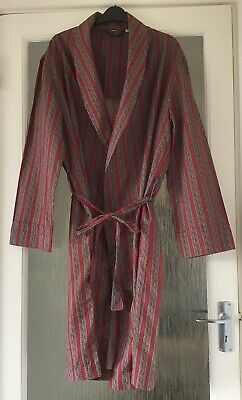 A Men's Vintage Tootal Dressing Gown - Large - Made in Britain