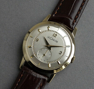 JAEGER LECOULTRE 14K Solid Gold Vintage Watch 1951