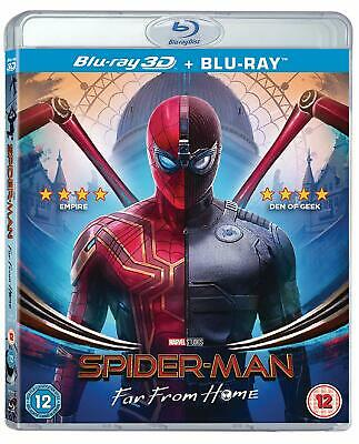Marvel's Spider-Man: Far From Home [3D + 2D Blu-ray Region Free Tom Holland] NEW