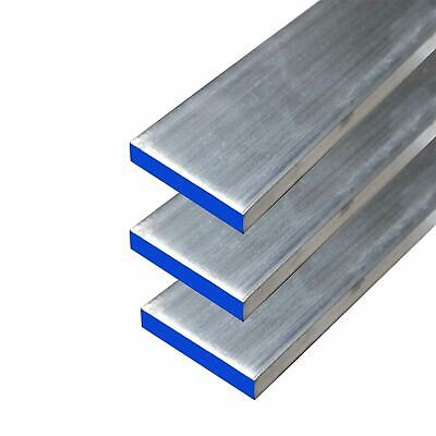 "6061 Aluminum Rectangle Bar, 0.125"" x 1.5"" x 48"" (3 Pack)"