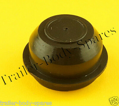FREE UK Post - 1 x 52mm Plastic Grease Hub Dust Wheel Cap for Trailers