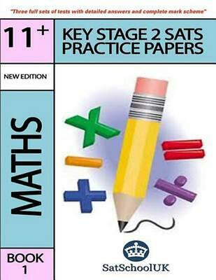 Key Stage 2 Sats Practice Papers: Maths by Satschool Uk (English) Paperback Book