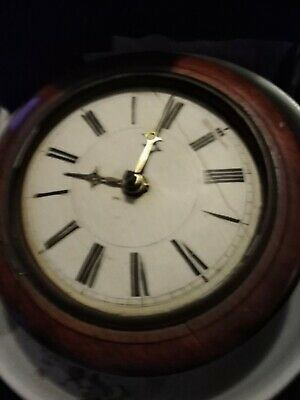 Victorian wall clock for spares