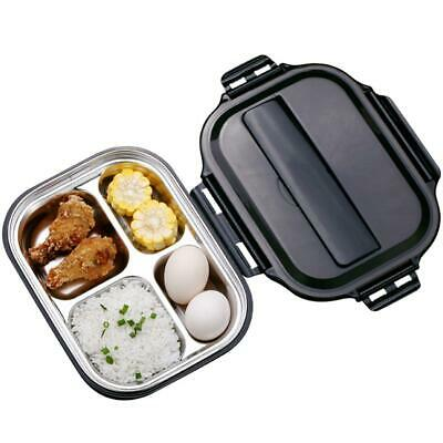 Microwave Bento Lunch Box Picnic Food Fruit Container With Compartments Str H3P8