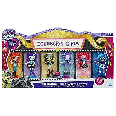 My Little Pony Equestria Girls Minis MOVIE COLLECTION Dolls 6-Pack by Hasbro
