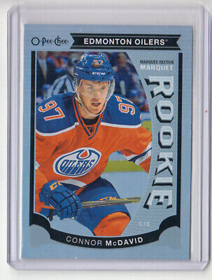 2015-16 O-Pee-Chee Update Marquee Rookie Rainbow Foil Connor McDavid Rc's
