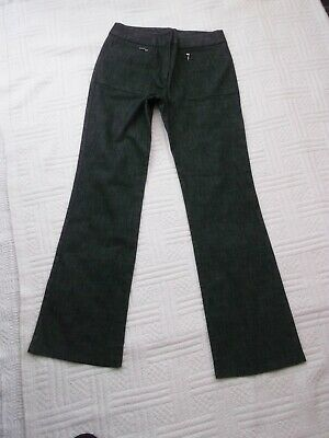 "Next        size 10      GREY MIX   DENIM TYPE   TROUSERS / JEANS      31"" leg"