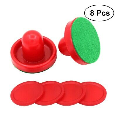 8x 76MM Air Hockey Pushers Replaceable Portable Air Hockey Equipment Table Game