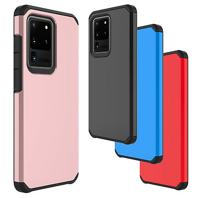 For Samsung Galaxy S10 Plus Shockproof Case Hybrid Silicone Rugged Rubber Cover