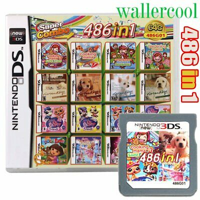 486 In 1 Video Game Cartridge Console Card For Nintendo NDSI NDS NDSL 2DS 3DS