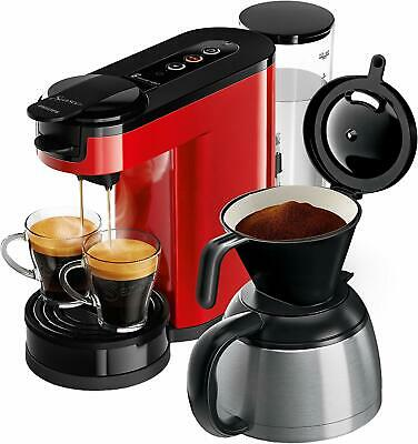 Senseo HD6592/80 Coffee Maker 2 on 1 Capsules or of Ground 1450 W - 1L