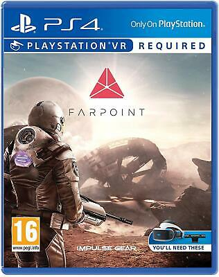 Farpoint VR Playstation 4 PS4 NEW SEALED Free UK p&p Pal PSVR Required