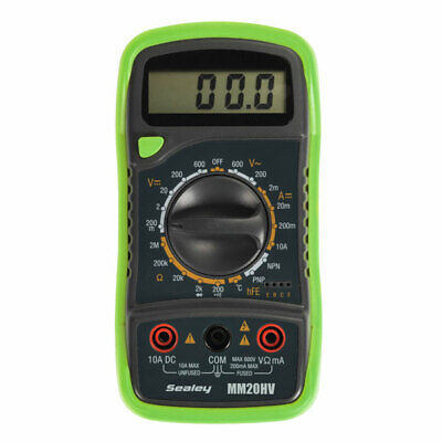 Sealey MM20HV Digital Multimeter 8 Function with Thermocouple Hi-Vis