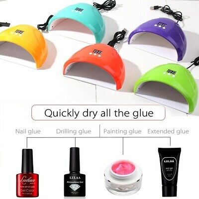 Nail Dryer USB Lamp UV Light for Nails Polish Gel Machine Electric Manicure 36W