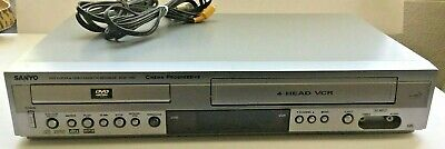 SANYO DVW-7100 DVD VHS Combo Player VCR Recorder S-Video