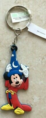 Disney Parks Mickey Mouse Merlin Rubber Keychain