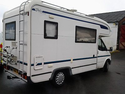 ford transit herald templer 2 berth motorhome very low miles
