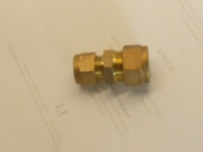 15mm to 10mm compression Brass fitting.