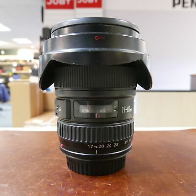 Used Canon EF 17-40mm f4 L USM lens - 1 YEAR GTEE