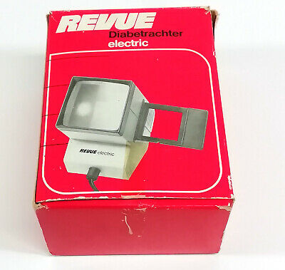 Revue Electric 3112 Vintage Slide Dia Viewer With Light 197EA