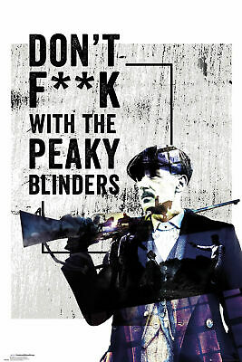 Peaky Blinders - Don't F**k With - TV-Serie Film - Poster - Größe 61x91,5 cm