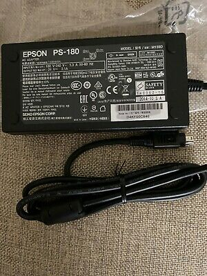 24vdc output Genuine Epson PS-180 AC Adapter Model M159D /& M159B