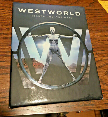Westworld: The Complete First Season (Blu-ray Disc, 2017) used