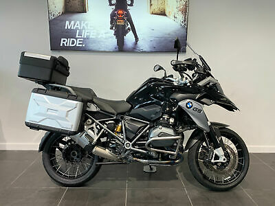 Bmw R 1200 Gs Te Triple Black
