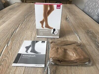 Mediven Duomed Medical Compression Ccl2 A G Thigh Stocking Sand Open Toe Medium