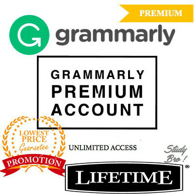 Grammarly account Lifetime Premium | INSTANT DELIVERY | Guaranteed 100% ✔
