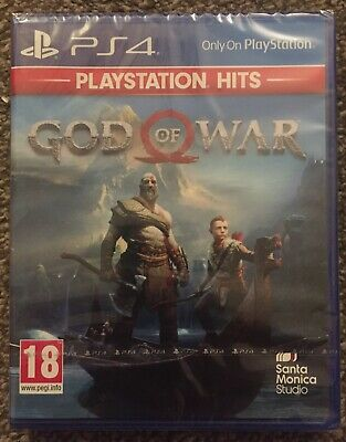 **Sealed** God Of War Game For Ps4 Brand New Playstation 4 Uk Stock Pegi