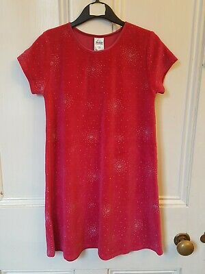 Girls pink dress age 5-6 years new with tags Christmas xmas