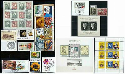 140+ Worldwide: MNH Stamps-Covers-Sheets-Cuttings-Blocks. True Variety. 12 Scans